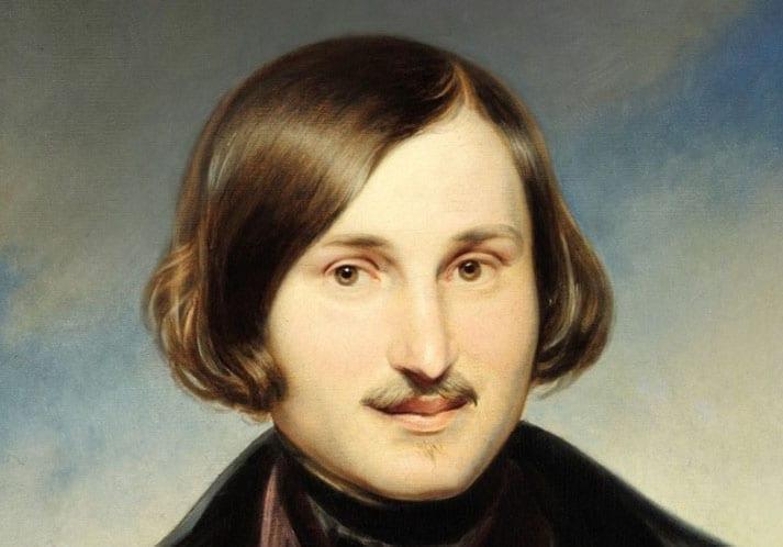 1N.Gogol by F.Moller 1840 Tretyakov gallery
