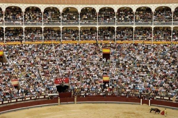 """Corrida de Toros en Las Ventas, Madrid. ©PromoMadrid, autor Max Alexander"""""""
