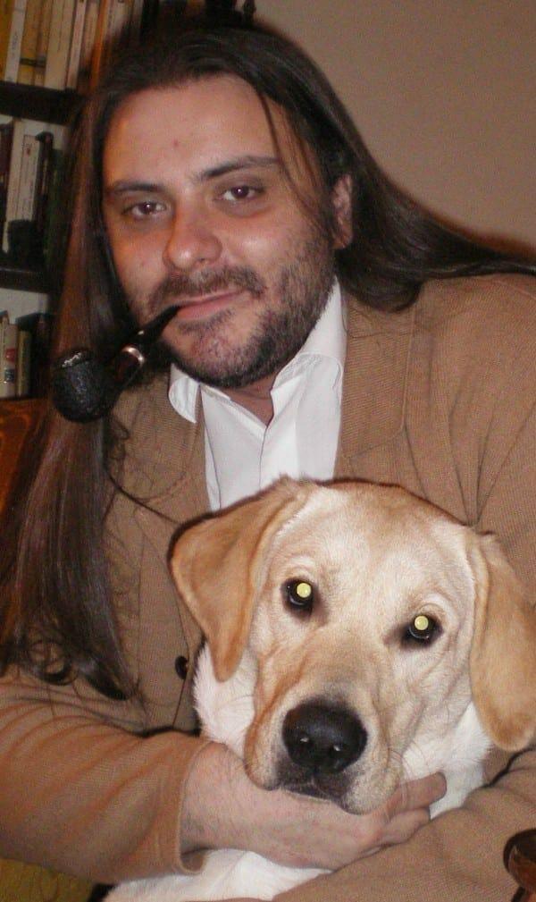 Martin Cid y Jack el Labrador
