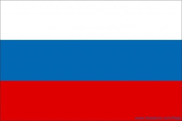 russia flag large