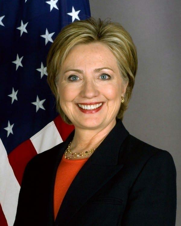 Hillary Clinton. Fuente: Departamentp de Estado de los Estados Unidos