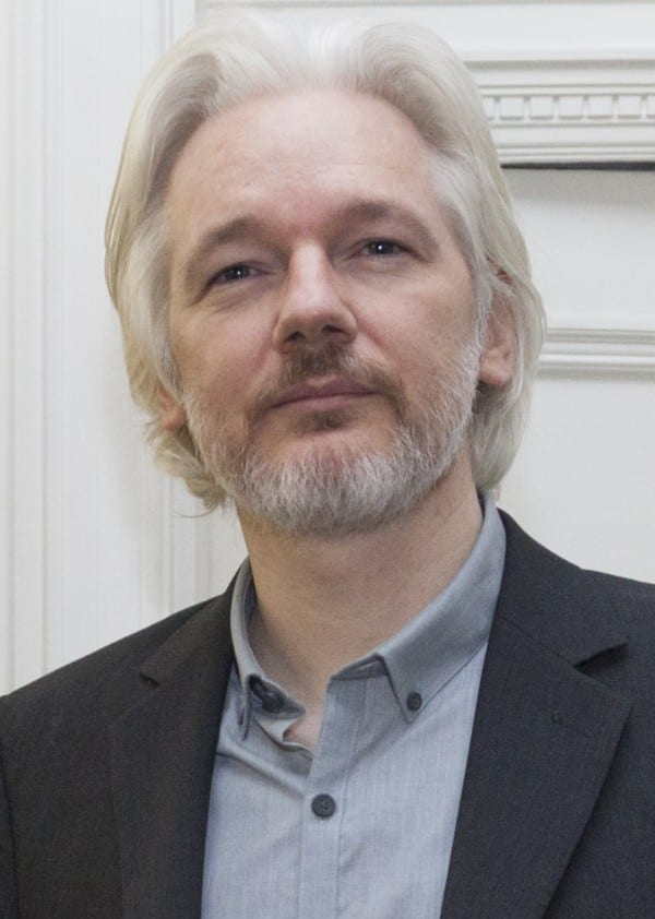 Julian Assange en Londres en el 2014. Fuente: flickr. Autor: David G Silvers