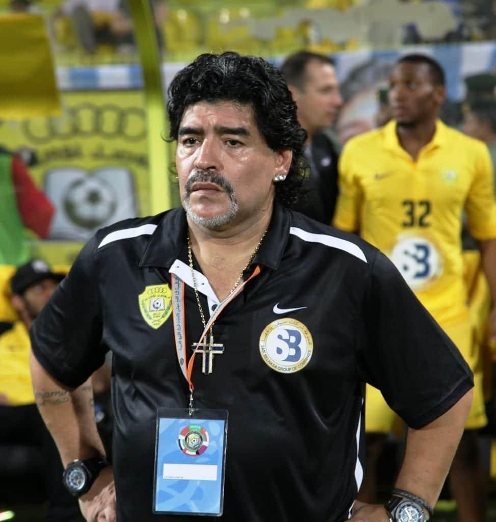 Maradona en el 202. Fuente: Wikipedia. Autor: Neogeolegend