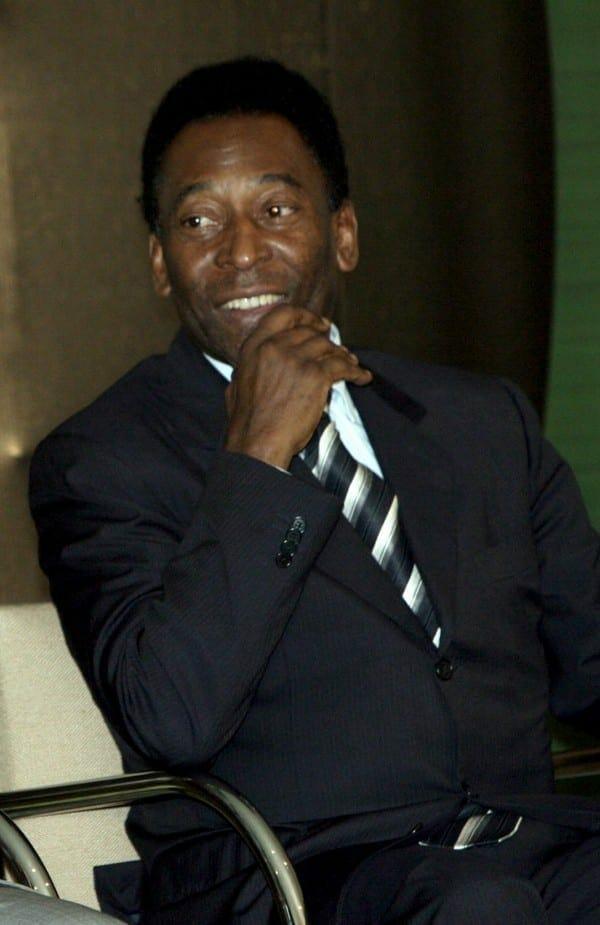 Pelé. Fuente: Wkipedia. Autor: Fábio Rodrigues Pozzebom/Agência Brasil