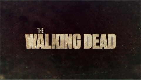 The Walking Dead title card