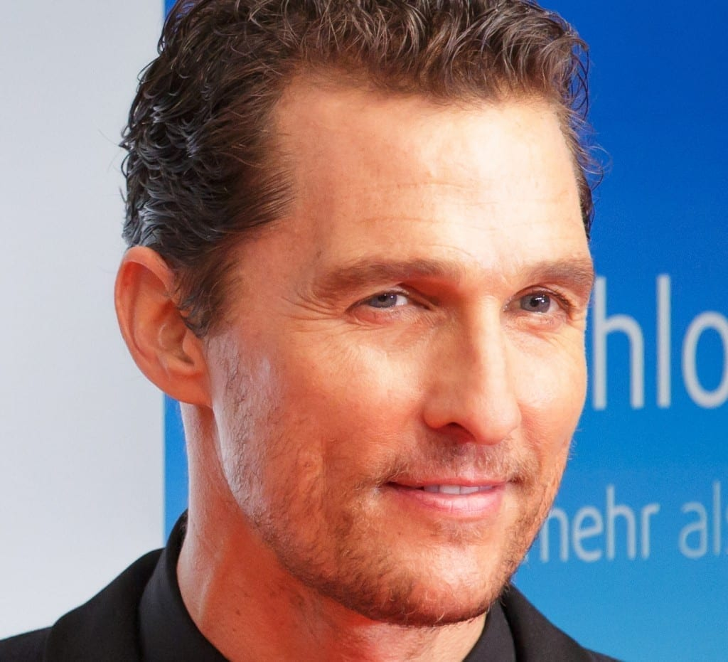 1Matthew McConaughey Goldene Kamera 2014 Berlin