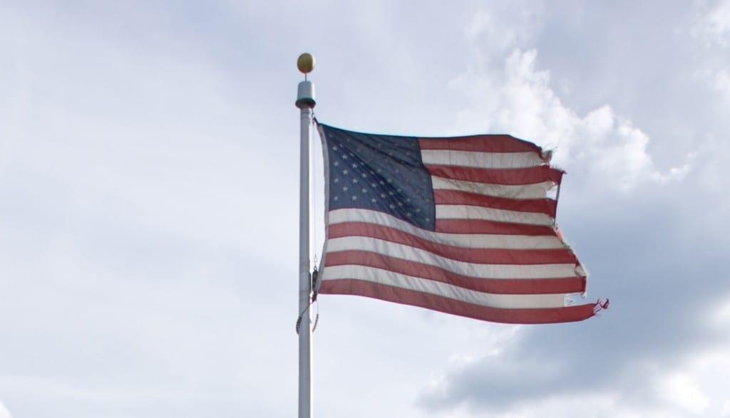 1Tattered Flag