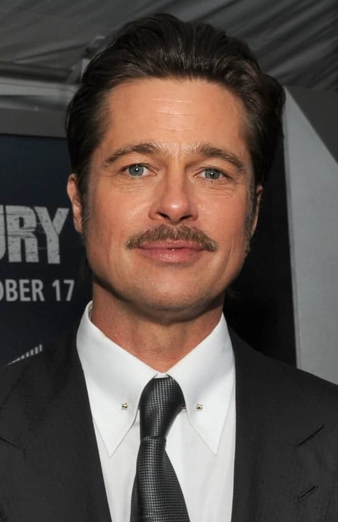 Brad Pitt. Fuente: Wikipedia. Autor: DoD News Features