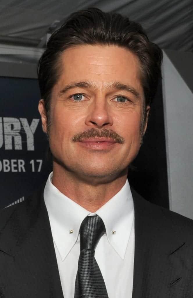 Brad Pitt. Fuente: Wikipedia. Autor: DoD News Features