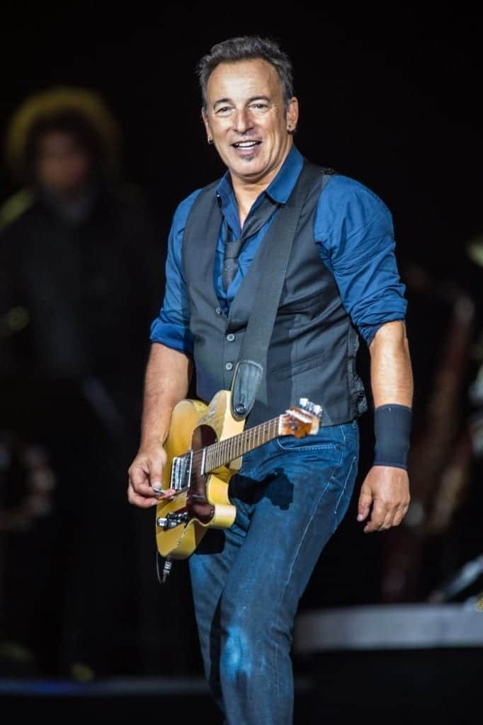 Bruce Springsteen en el 2012. Fuente: Wikipedia. Autor: Bill Ebbesen