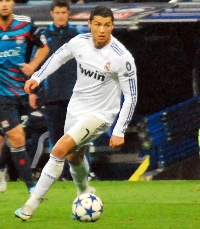 Cristiano Ronaldo. Fuente: flickr. Autor: Jan S0L0
