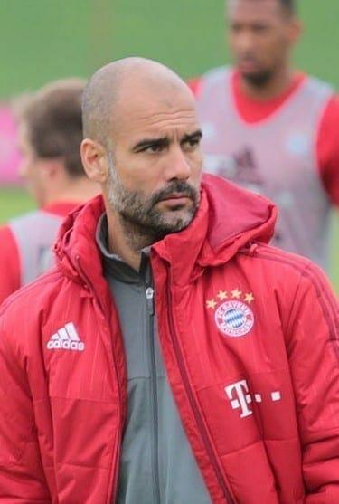 Guardiola, entrenador del Manchester City. Fuente: Wikipedia