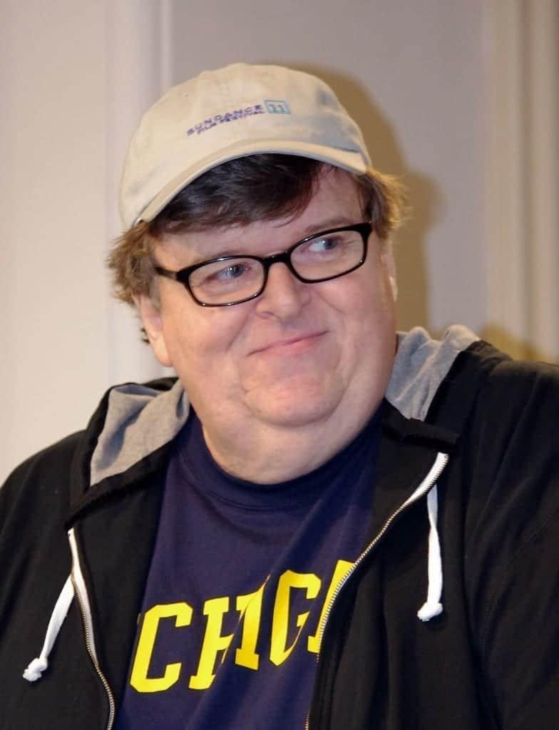 Michael Moore. Fuente: Wikipedia. Autor: David Shankbone
