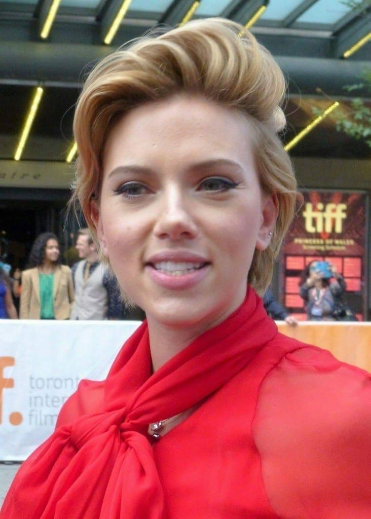 Scarlett Johansson en el Festival de CIne de Toronto en el 2016. Fuente: flickr. Autor: GabboT - Sing 23