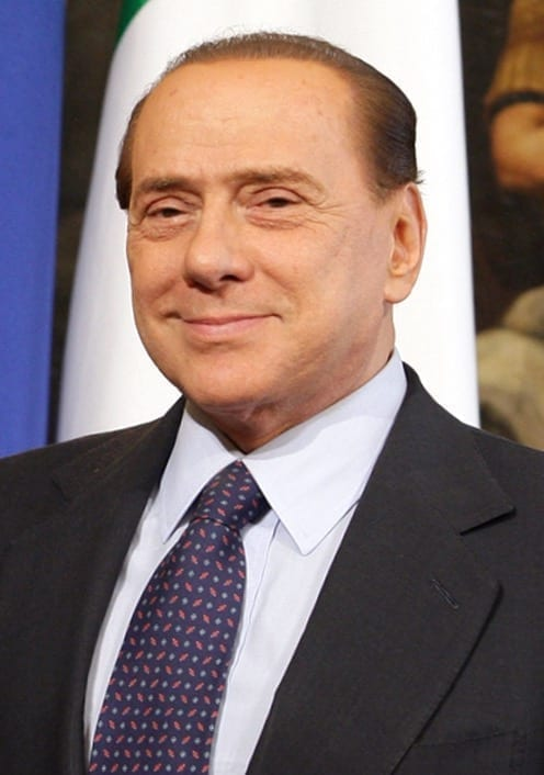 Silvio Berlusconi en el 2010. Fuente: Wikipedia. Autor: www.la-moncloa.es