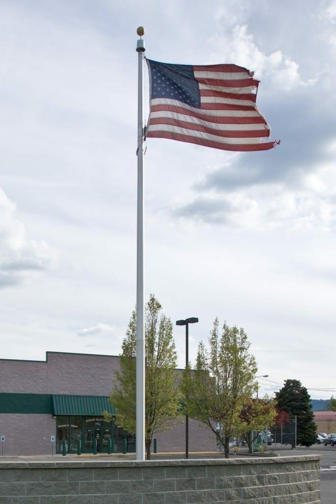 Bandera de Estados Unidos. Fuente. Wikipedia. Autor: Staben