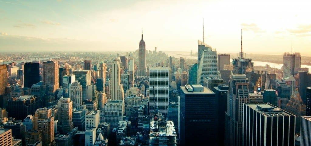skyline buildings new york skyscrapers