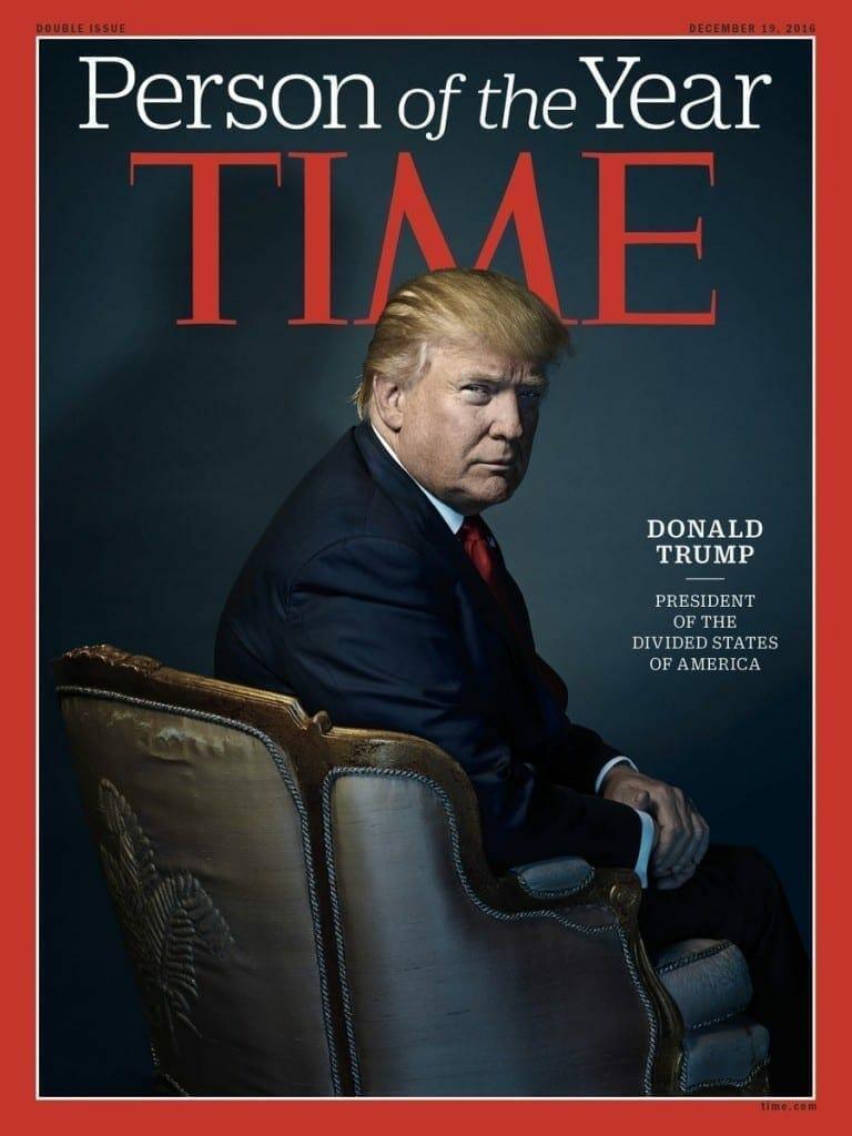 Donald Trump en la Revista Time