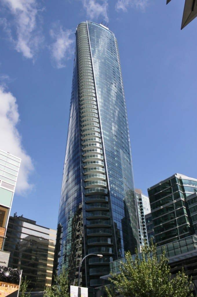 Trump Tower en Vancouver. Fuente: Wikipedia. Autor: SounderBruce