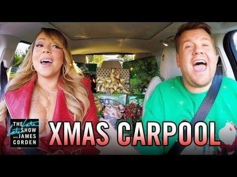 navidad el carpool de james cord