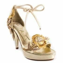 1484301479 sandalias de novia color dorado modelo 2127 oro