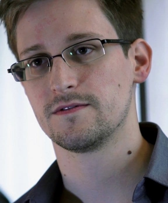Edward Snowden. Fuente: Wikipedia. Autor: Laura Poitras