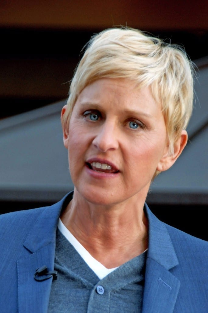 Ellen DeGeneres en el 2011. Fuente: Wikipedia. Autor: Toglenn