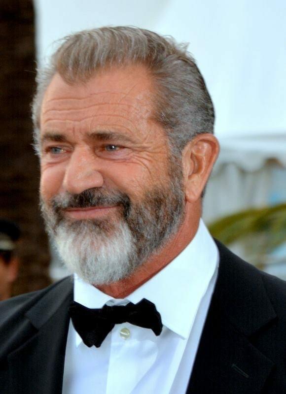 Mel Gibson en Cannes en 2016. Fuente: Wikipedia. Autor: Georges Biard