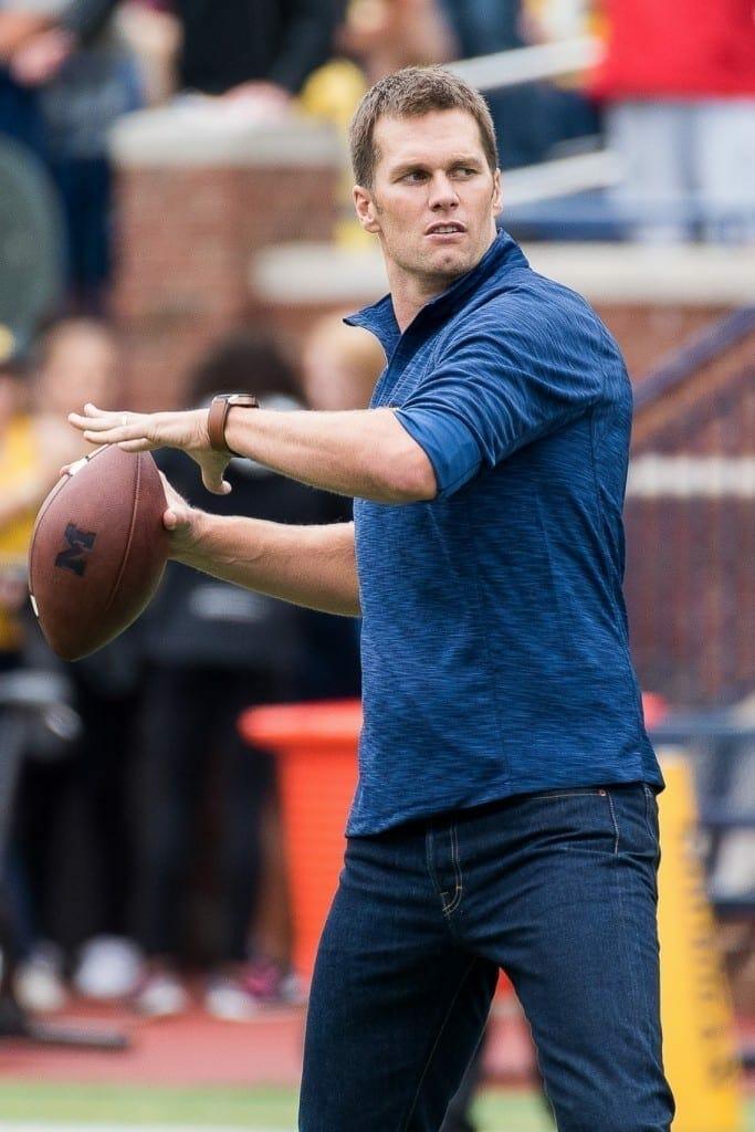 Tom Brady. Fuente: FLickr. Autor: Brad Muckenthaler
