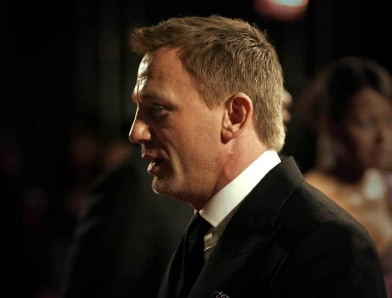 Daniel Craig en los Premios BAFTA de 2007. Fuente: Wikipedia. Autor: Caroline Bonarde Ucci