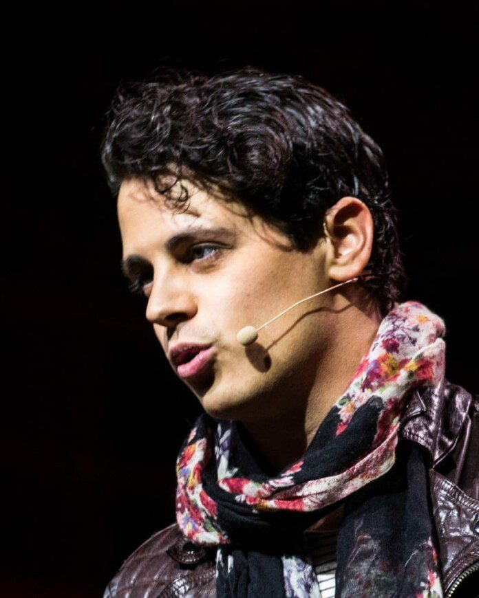 Milo Yiannopoulos. Fuente: Wikipdia. Autor: OFFICIAL LEWEB PHOTOS