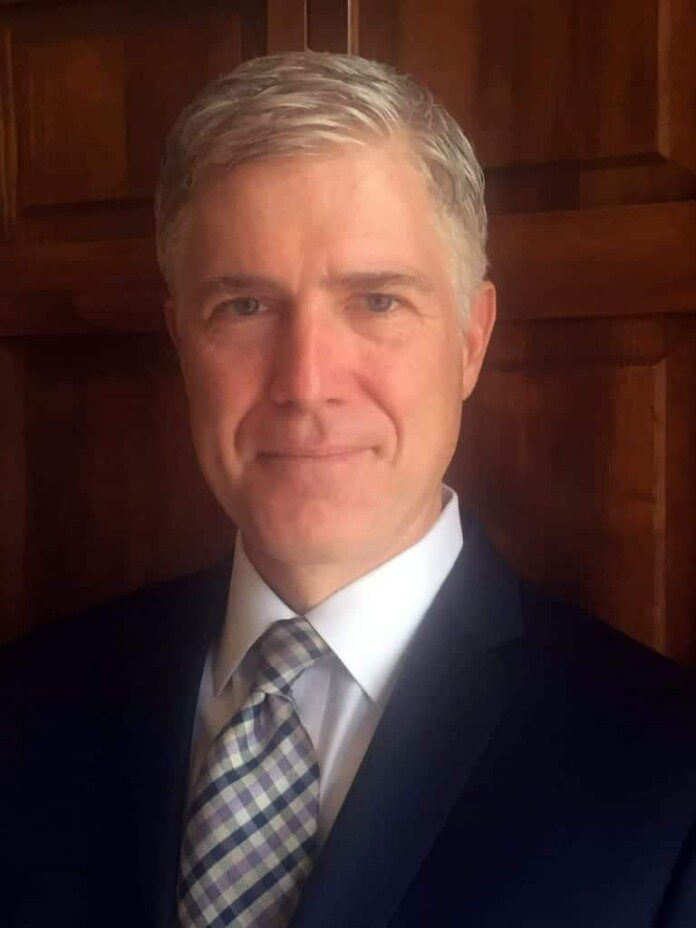 Neil Gorsuch. Fuente: Boston Herald