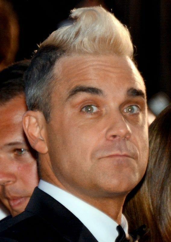 Robbie Williams en Cannes en el 2015. Fuente: Wikipedia. Autor: Georges Biard
