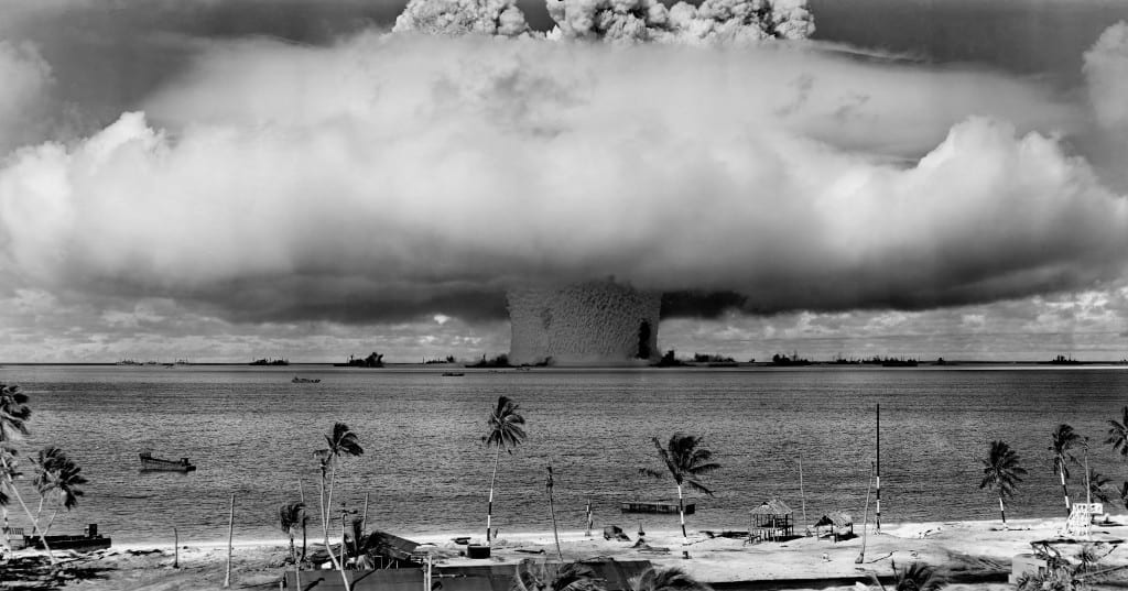 nuclear weapons test nuclear weapon weapons test explosion 73909