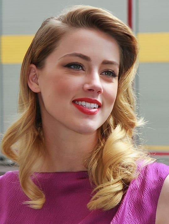 Amber Heard. Fuente: Wikipedia. Autor: gdcgraphics