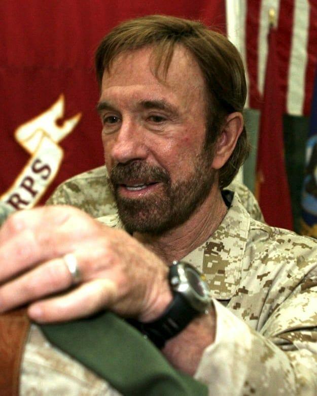 Chuck Norris. Fuente: Wikipedia
