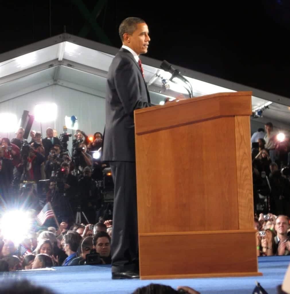 Barack Obama. Fuente: Wikipedia. Autor: Gabbec