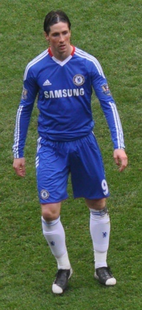 Fernando Torres en el Chelsea. Fuente: Wikipedia. Autor: Lynchg
