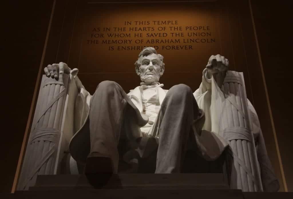 memorial lincoln president monument 161892