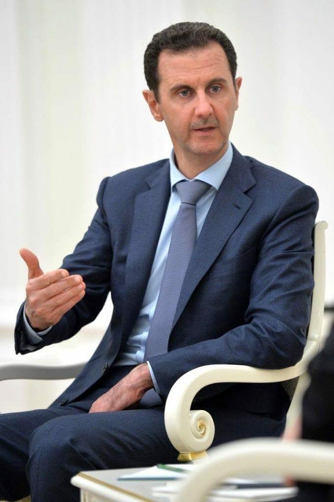 Bashar al Assad. Fuente: Kremlin.ru