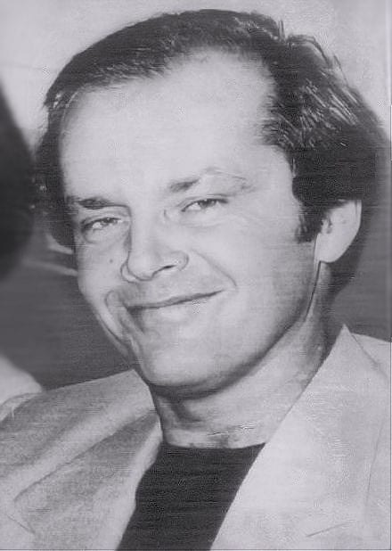 Jack Nicholson. Fuente: Wikipedia. Autor: AP Wire press photo