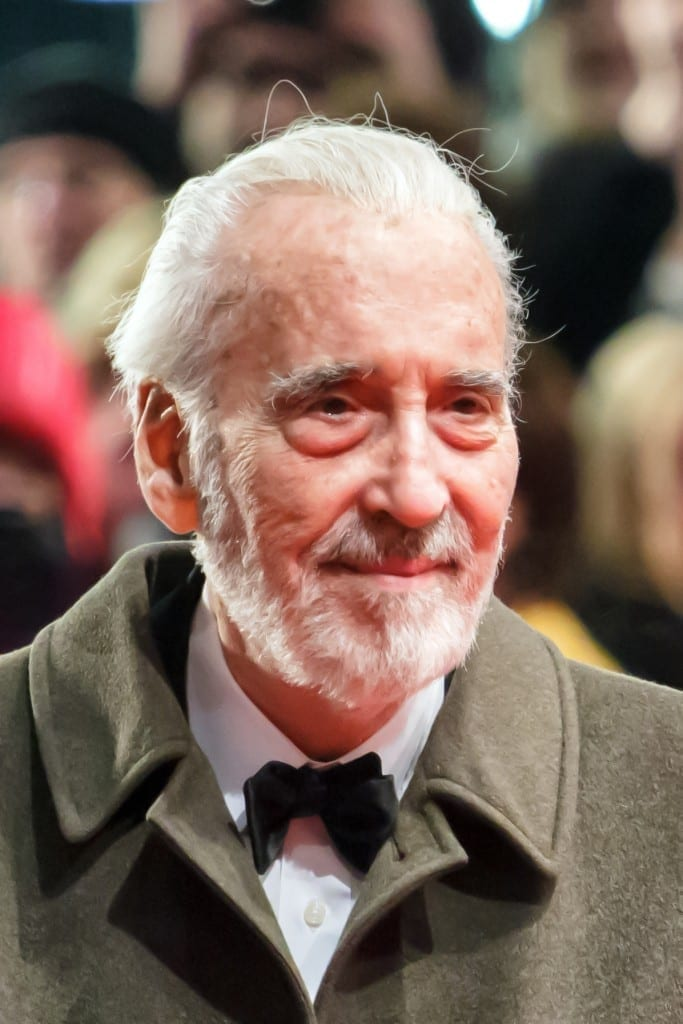 Christopher Lee. Fuente: Wikipedia. Autor: Avda