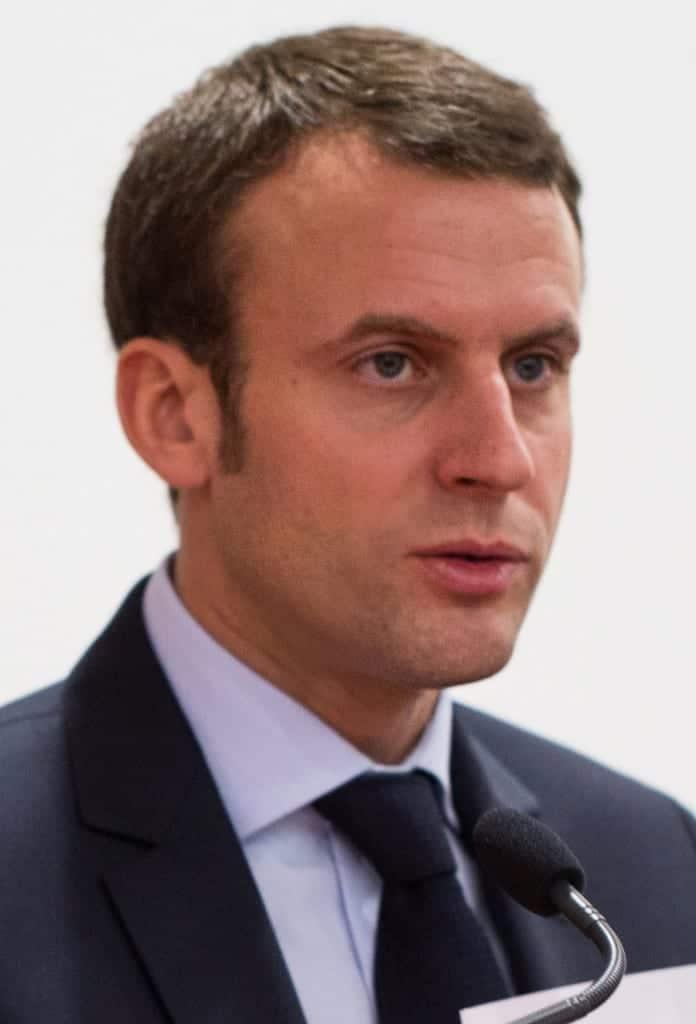 Emmanuel Macron. Fuente: flickr. Autor: Ecole polytechnique Université Paris