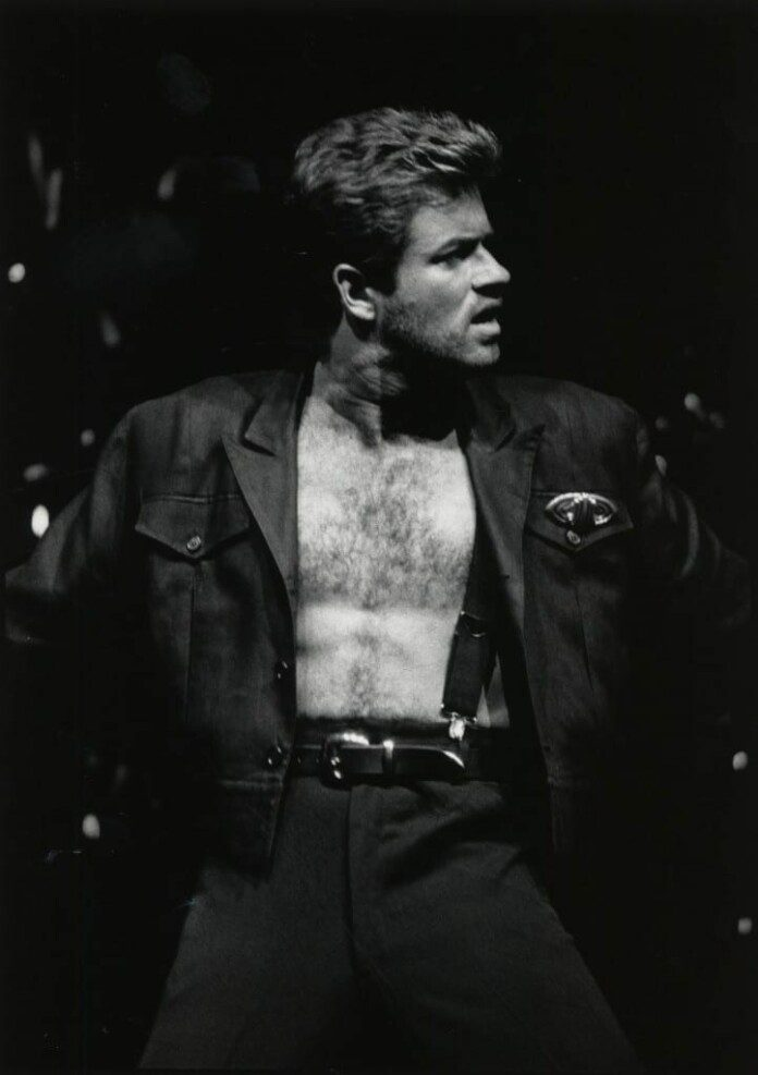 George Michael. Fuente: Wikipedia. Autor: University of Houston Digital Library