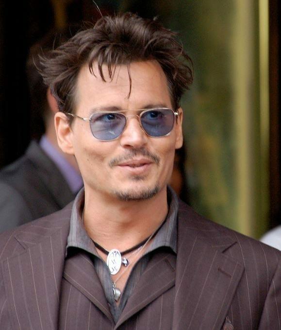 Johnny Depp en el 2013. Fuente Wikipedia. Autor: Angela George