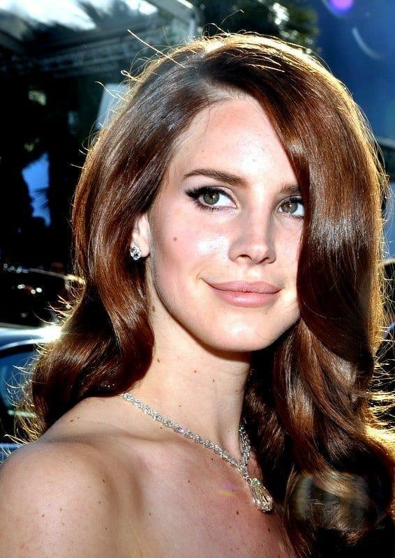Lana Del Rey en Cannes en el 2012. Fuente: Wikipedia. Autor: Georges Biard