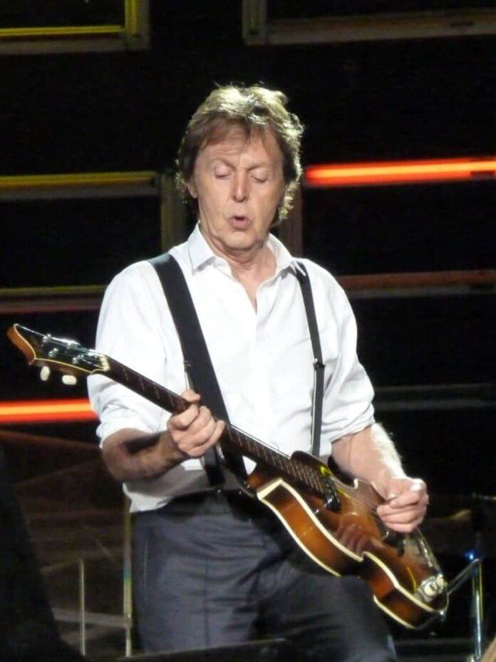 Paul McCartney en Dublin. Fuente: flickr. Autor: Fiona