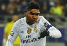 Casemiro. Fuente: Football.ua