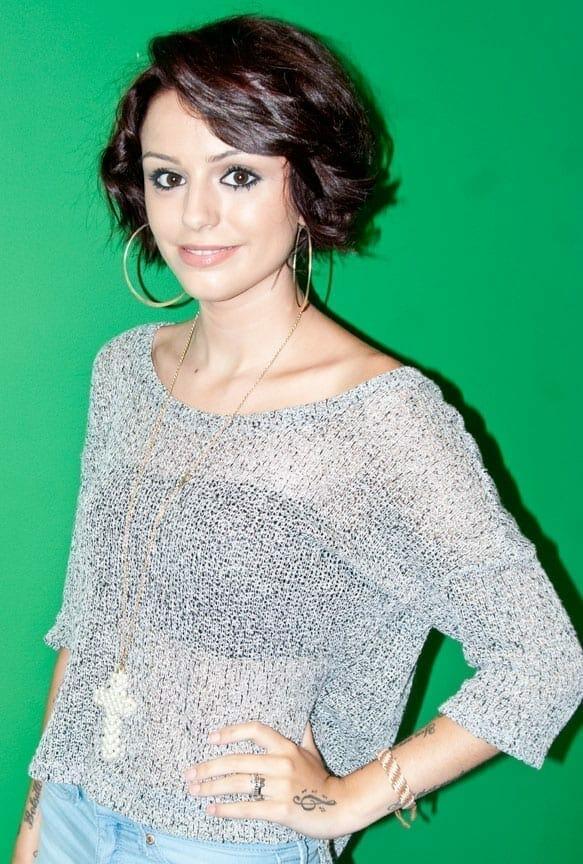 Cher Lloyd en el 2012. Fuente: Wikipedia. Autor: Adam Bielawski
