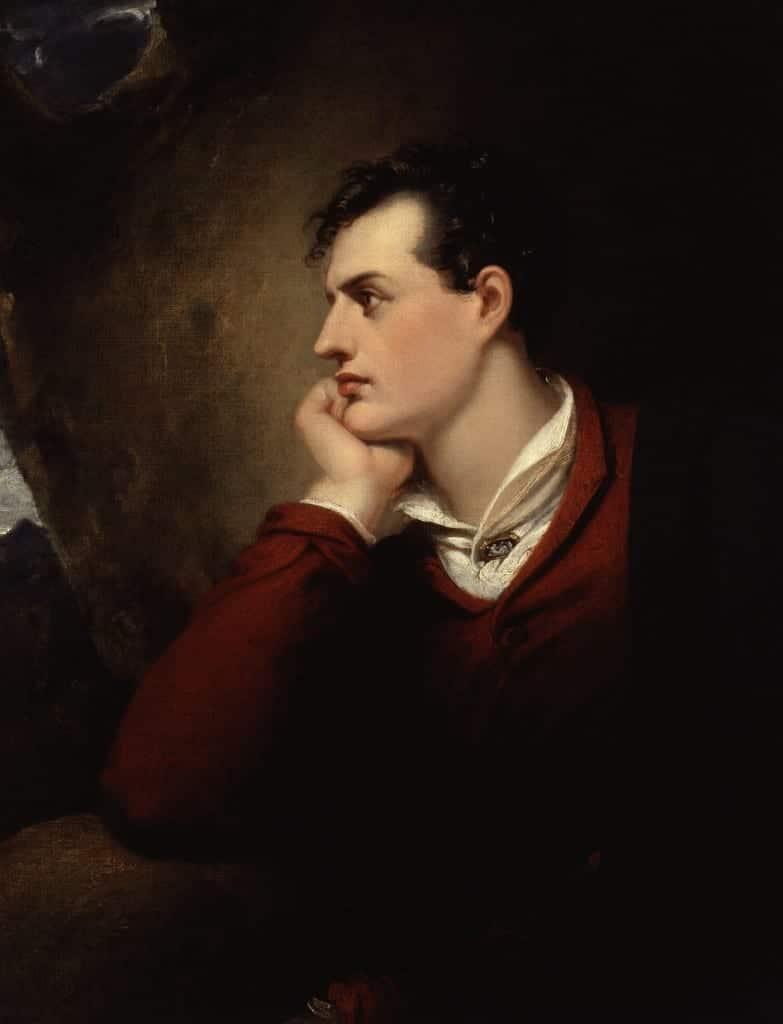 George Gordon Byron 6th Baron Byron by Richard Westall 2
